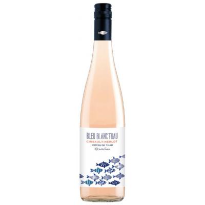 Doos van 6: Rosé Bleu Blanc Thau, Côtes de Thau, Florensac, Languedoc 2020